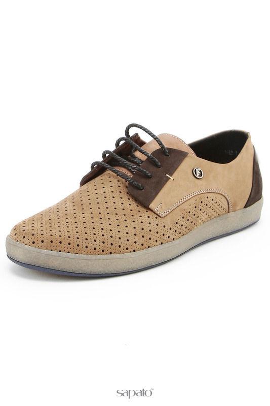 Ботинки FLY STEP Полуботинки коричневые