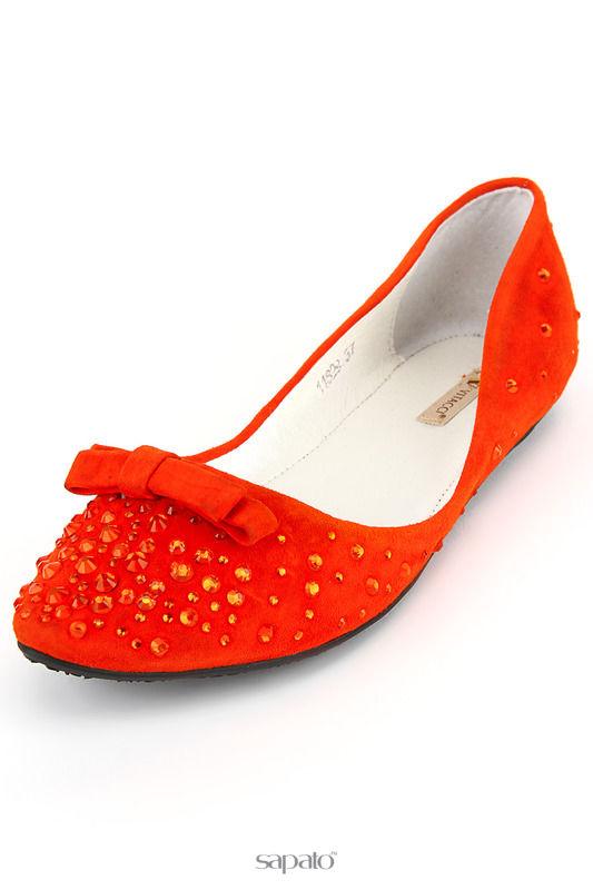 Балетки Vitacci Балетки оранжевые
