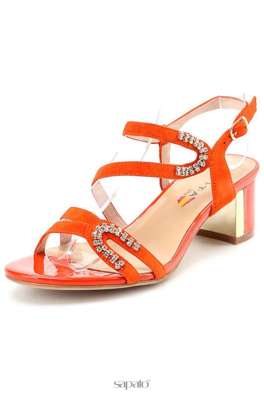 Босоножки Evita Босоножки оранжевые