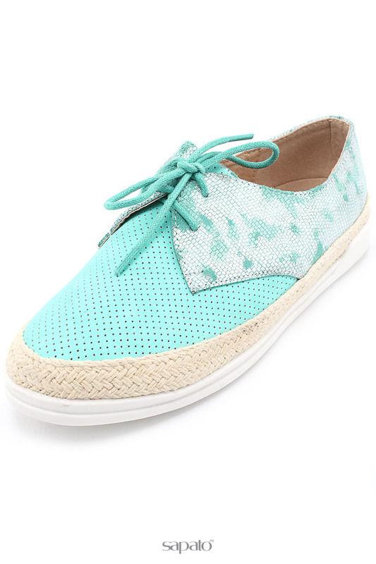 Ботинки SpringWay Полуботинки голубые
