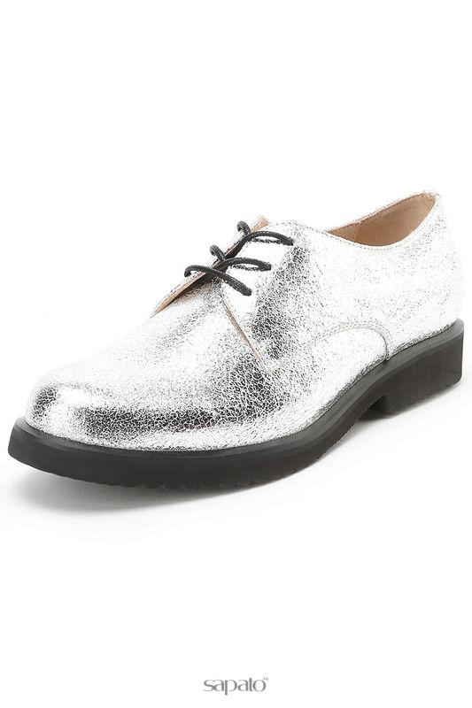 Ботинки Evita Полуботинки серебристые