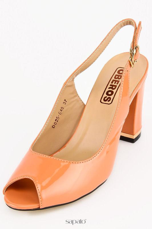 Босоножки OBEROS Туфли бежевые