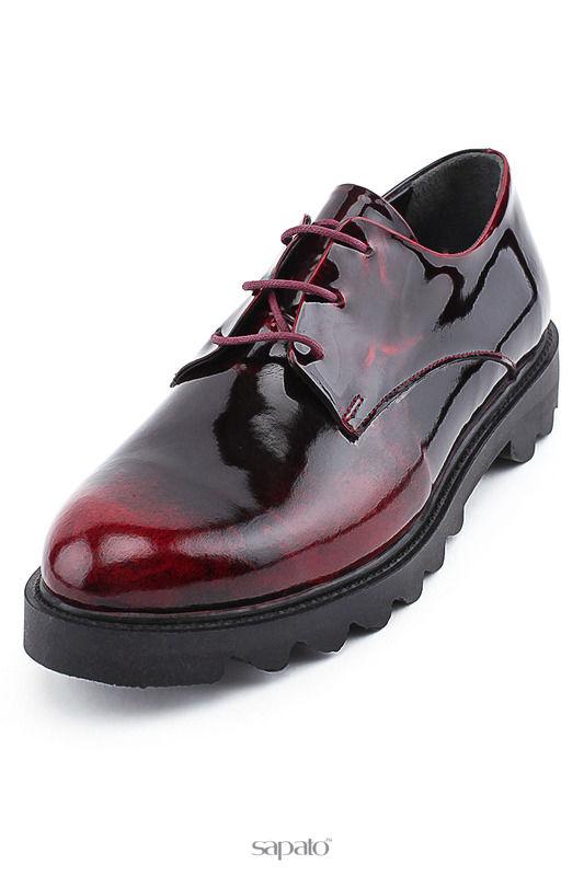Ботинки DIVA CLUB Туфли красные