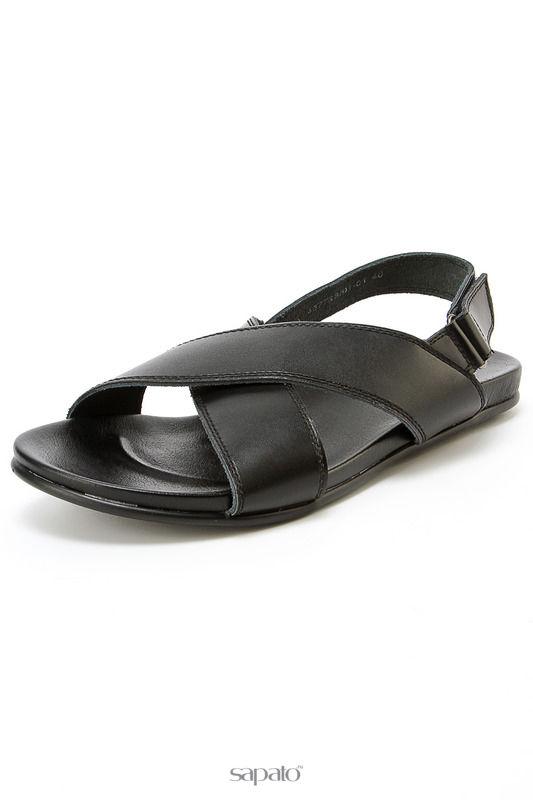 Туфли CROSBY Туфли открытые чёрные