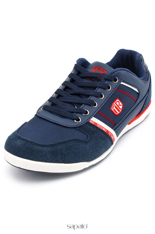 Ботинки Tesoro Полуботинки синие
