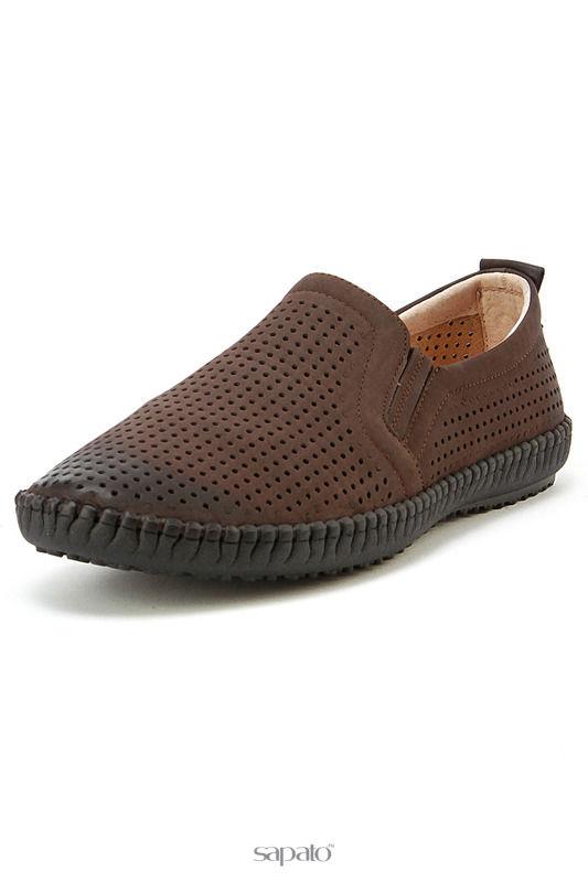 Ботинки Tesoro Полуботинки коричневые