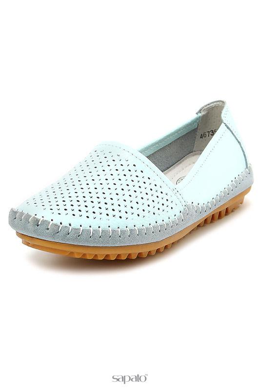 Туфли CROSBY Туфли голубые