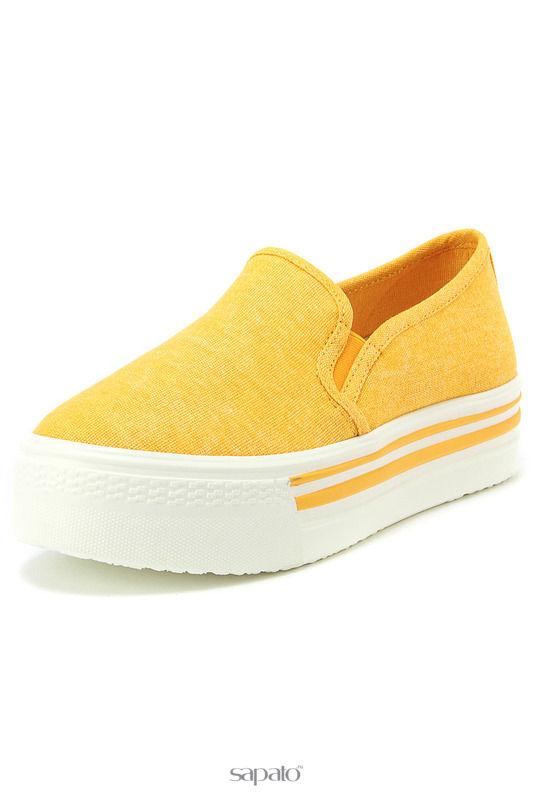 Туфли Keddo Туфли закрытые жёлтые
