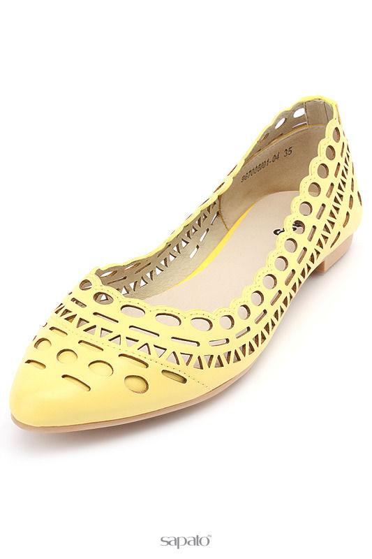 Туфли Betsy Туфли жёлтые