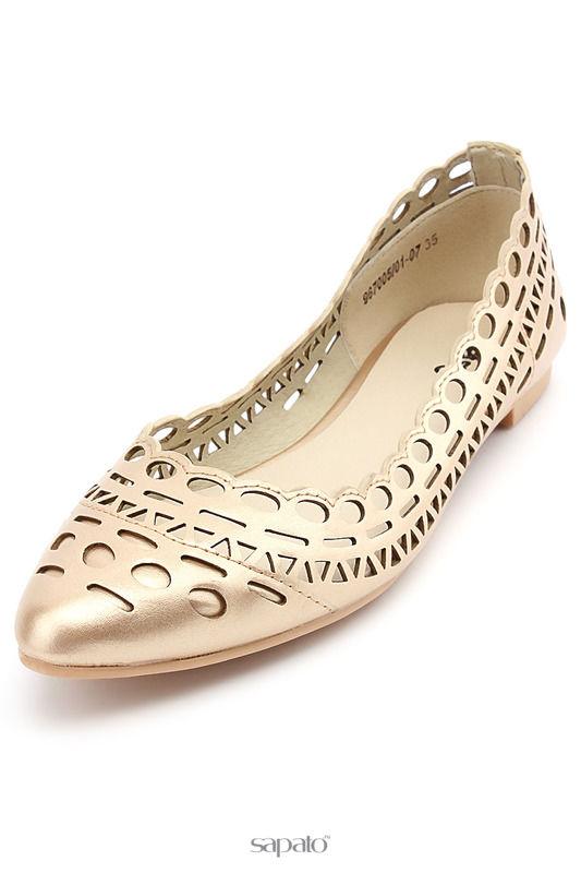 Туфли Betsy Туфли золотистые