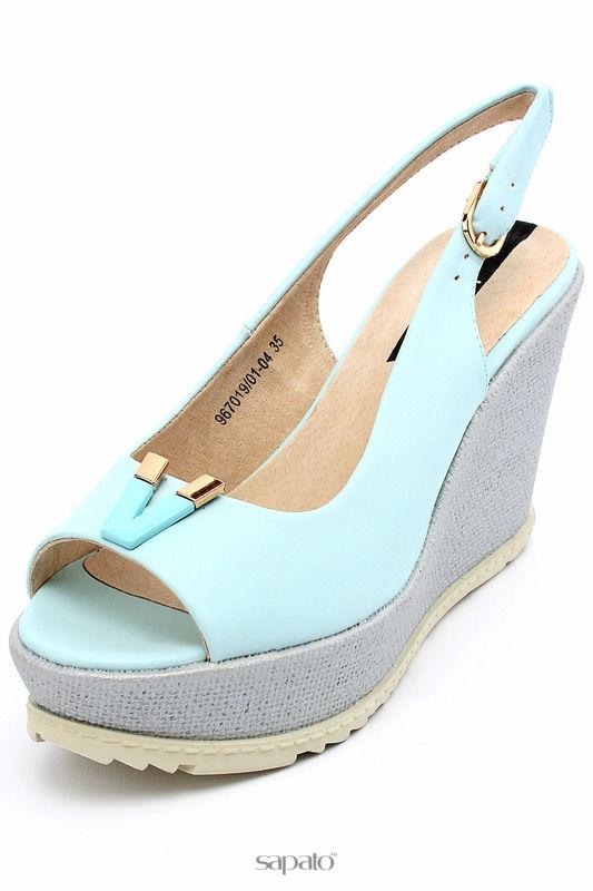 Туфли Betsy Туфли открытые голубые