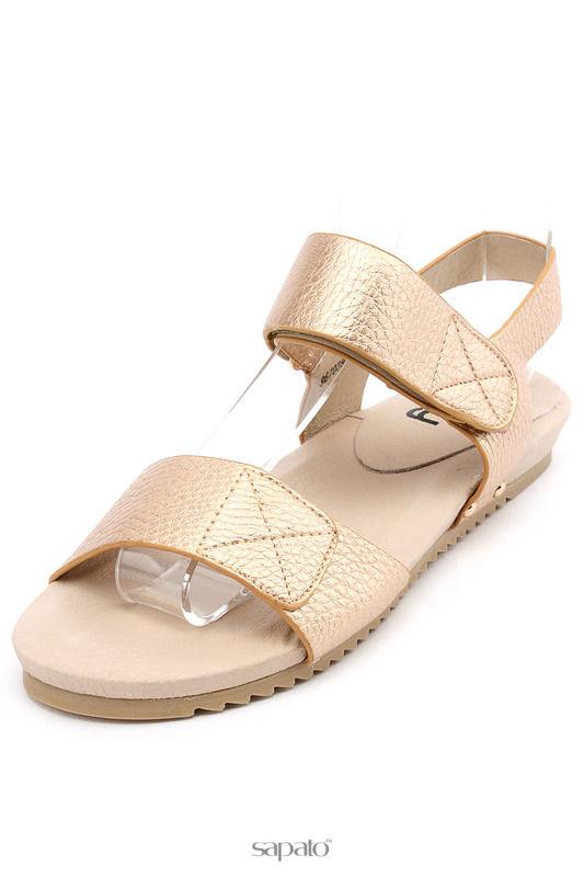 Туфли Betsy Туфли открытые золотистые