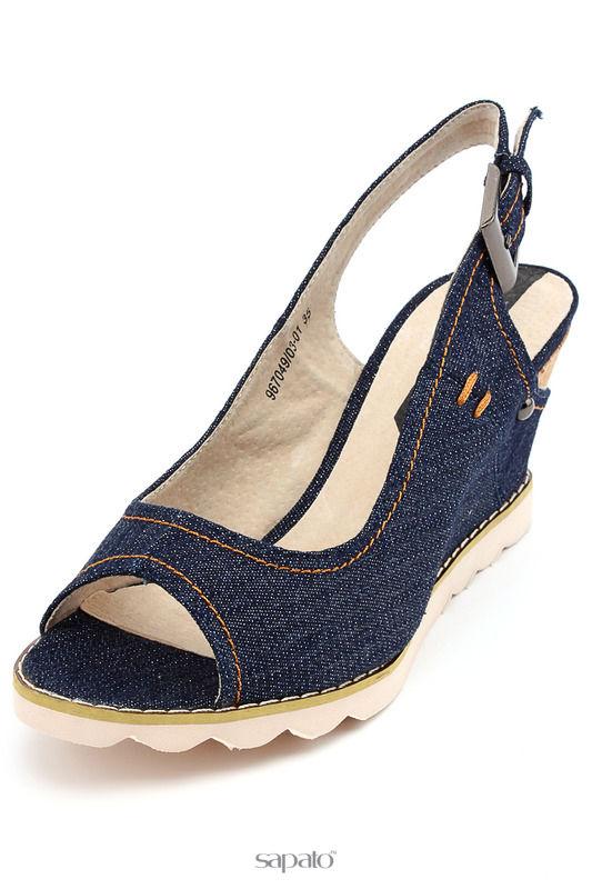 Туфли Elisabeth Туфли открытые синие