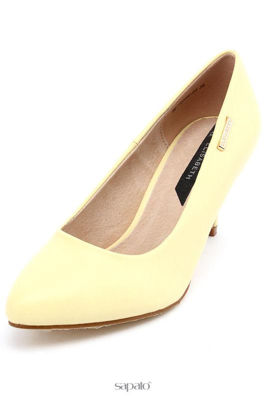 Туфли Elisabeth Туфли жёлтые
