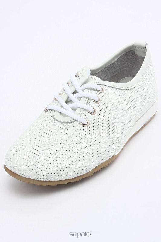 Ботинки CROSBY Полуботинки белые