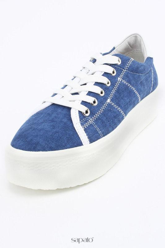 Ботинки Keddo Полуботинки голубые