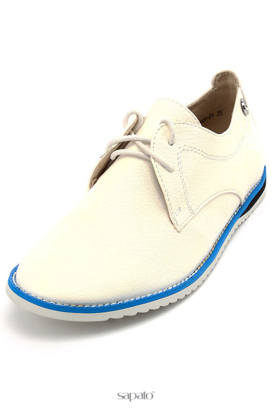 Ботинки Betsy Полуботинки белые