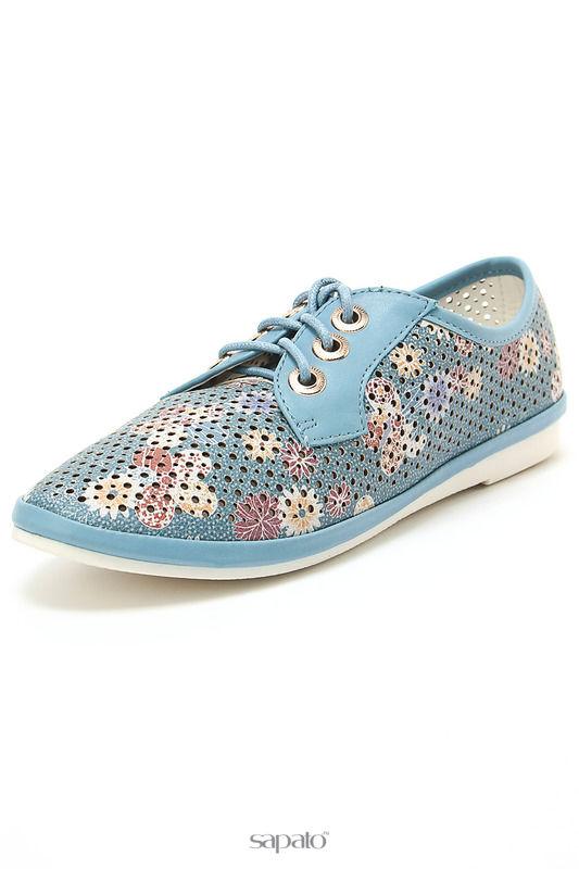 Ботинки Betsy Полуботинки синие