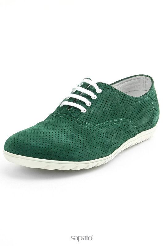 Ботинки Sergio Serrano Полуботинки зеленые
