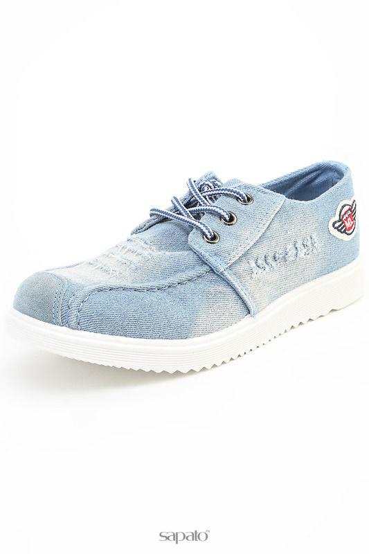 Ботинки Daze Полуботинки голубые