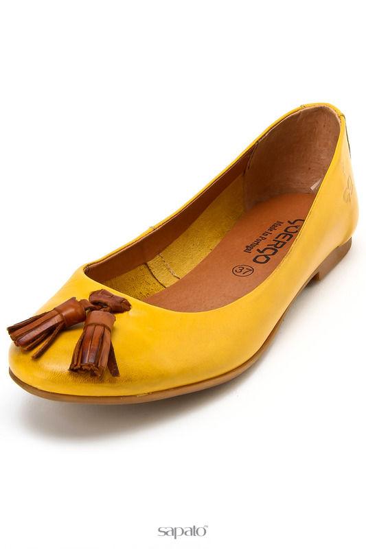 Туфли Goergo Туфли летние жёлтые