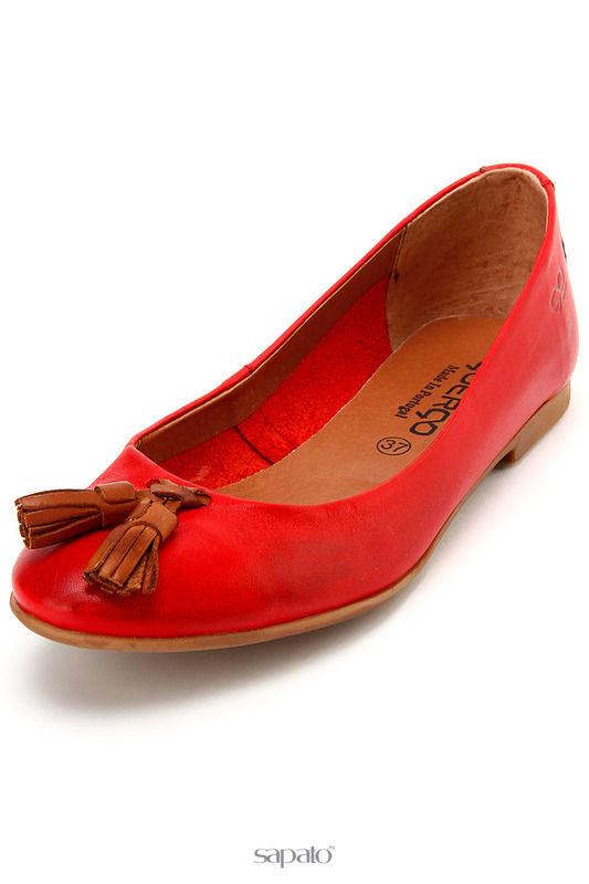 Туфли Goergo Туфли летние красные