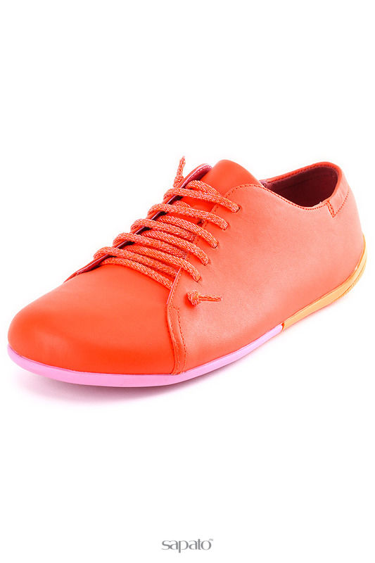 Ботинки Camper Полуботинки оранжевые