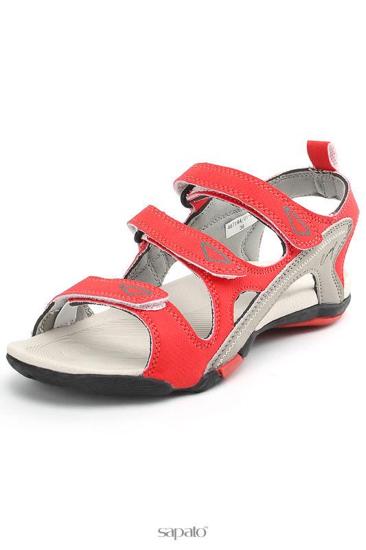 Босоножки CROSBY Туфли открытые красные