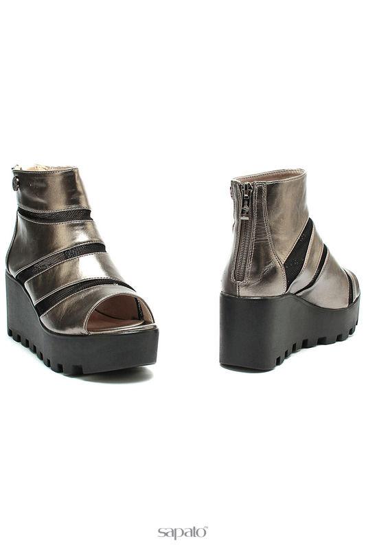 Ботинки Betsy Ботинки серебристые