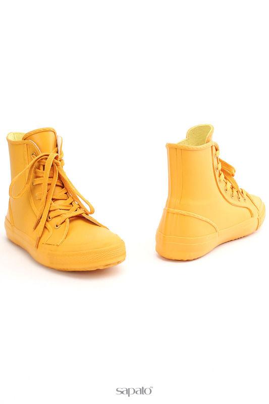 Кеды Keddo Ботинки жёлтые