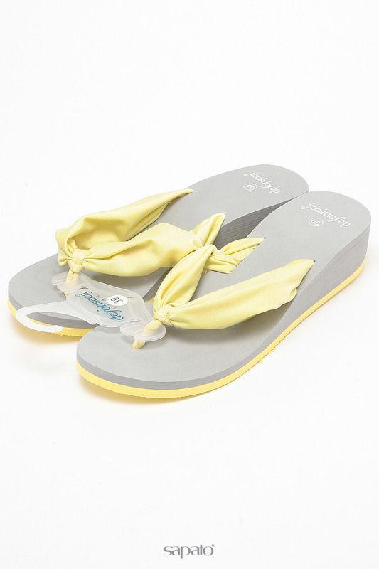 Домашняя обувь De Fonseca Тапочки жёлтые