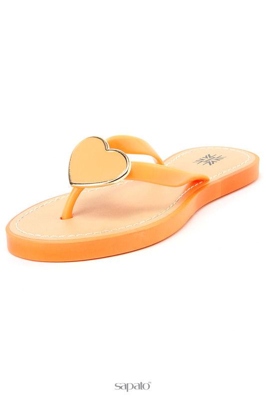 Шлепанцы Keddo Туфли открытые оранжевые