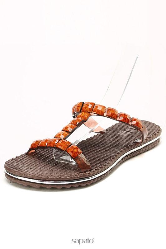 Сабо Keddo Туфли открытые коричневые