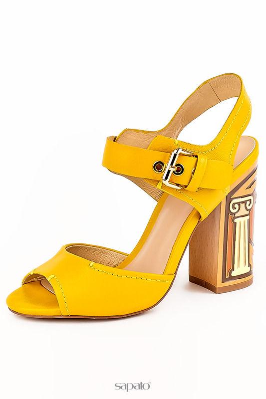 Босоножки Grand Style Босоножки жёлтые