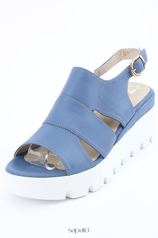 Туфли PERA DONNA Туфли летние открытые голубые