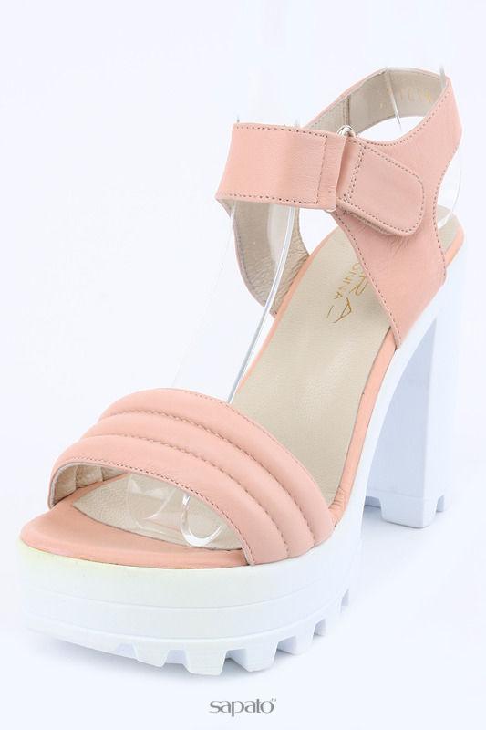 Туфли PERA DONNA Туфли летние открытые розовые