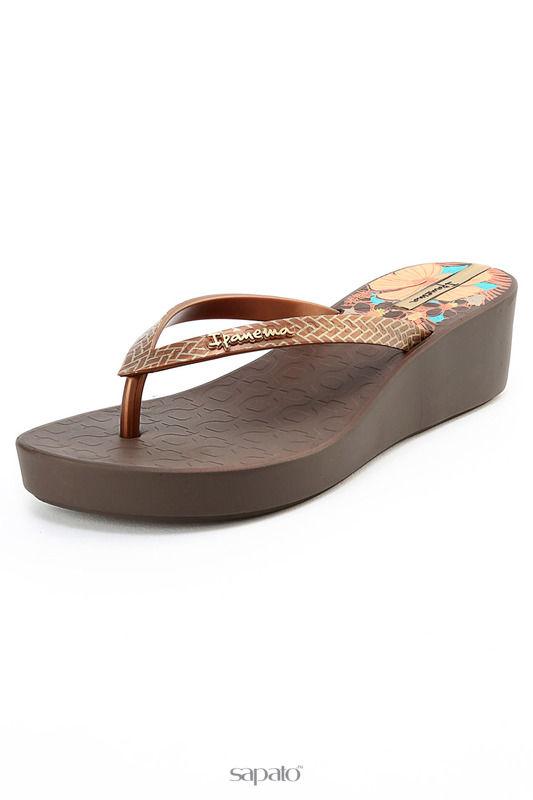 Шлепанцы Ipanema Пантолеты коричневые