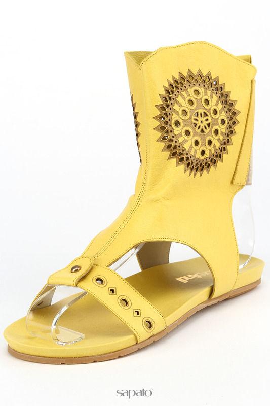 Босоножки MARE ANDI Босоножки жёлтые