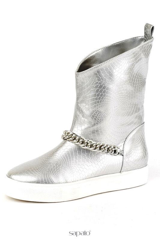 Ботинки Vita Ricca Ботинки серебристые