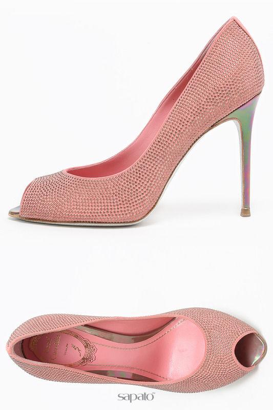 Туфли Rene Caovilla Туфли розовые