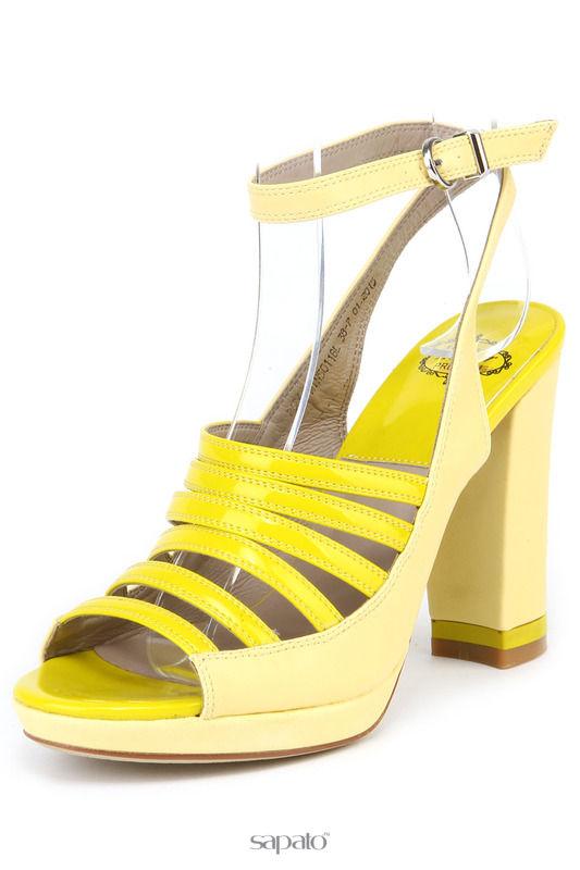 Босоножки AVENIR PREMIUM Туфли жёлтые