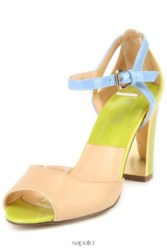 Босоножки THANKS4LIFE Туфли зеленые