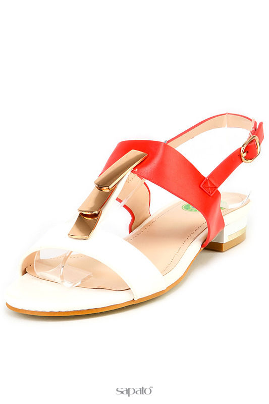 Босоножки THANKS4LIFE Туфли красные