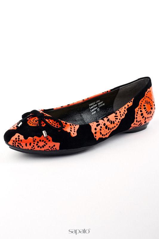 Балетки Maria Moro Балетки оранжевые