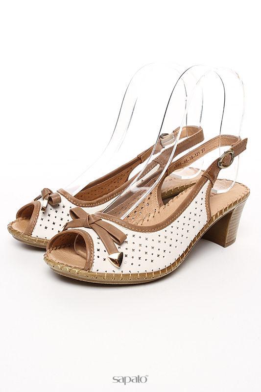 Босоножки Destra Туфли белые