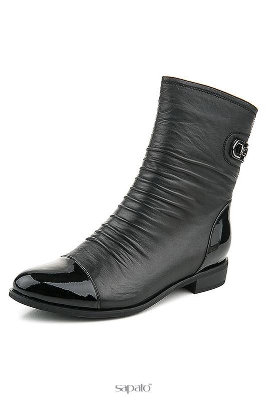 Ботинки Zenden woman Ботинки чёрные