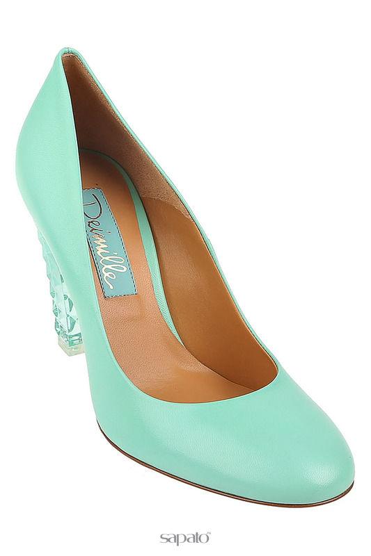 Туфли Deimille Туфли зеленые