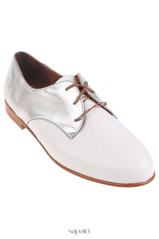 Ботинки Zespa Полуботинки белые