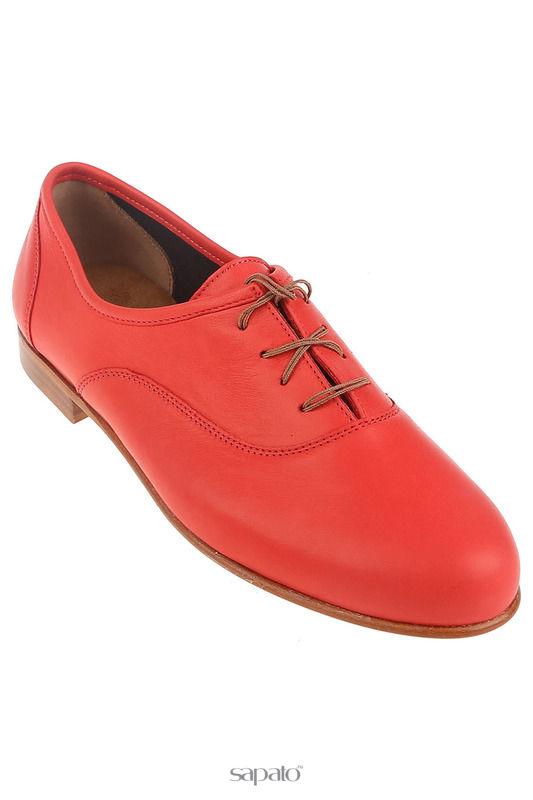 Ботинки Zespa Полуботинки красные