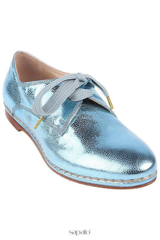 Ботинки Attilio Giusti Leombruni Полуботинки голубые